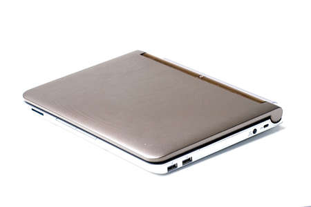 Small laptop notebook personal computer closed isolated Stock Photo - 6333101