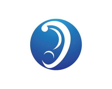 Diseño de ilustración de icono de vector de plantilla de logotipo de audiencia