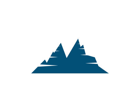 Mountain Logo template vector icon illustration design  イラスト・ベクター素材