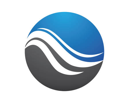 Water Wave vector icon illustration design