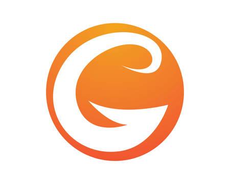 G letter logo vector icon illustration design
