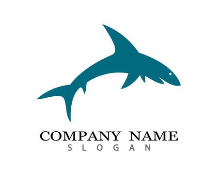 Shark Logo Template  icon illustration design