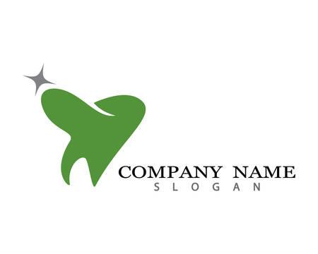 Dental logo company Template vector illustration icon design