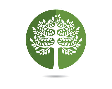 Tree vector icon illustration design