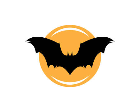 Bat logo template vector icon illustration design