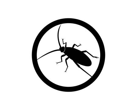 Cockroach logo template vector icon illustration design Illustration