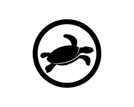 Turtle animal cartoon icon image vector illustration design Stock fotó - 106189365