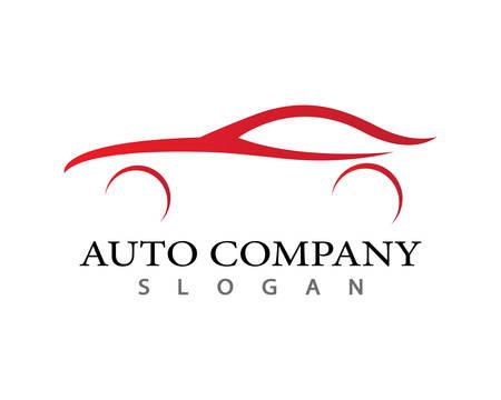 Auto Auto Logo Vorlage Vektor-Symbol Illustration Design