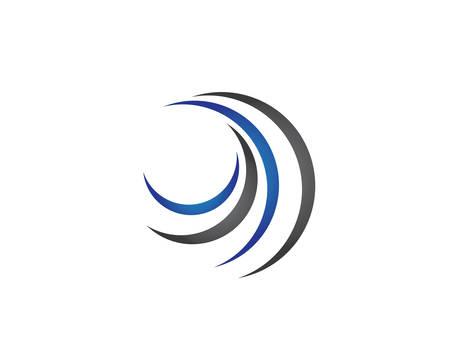 Water Wave logo vector icon illustration design Banco de Imagens - 106213658