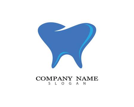 Dental logo Template vector illustration icon design Logo