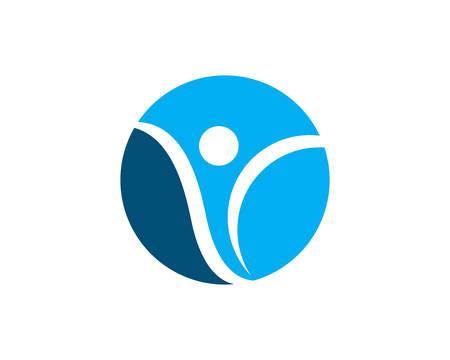 Healthy Life Logo template vector icon illustration design