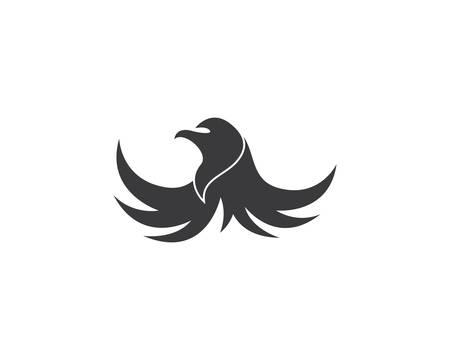 Falcon Logo Template vector icon illustration design