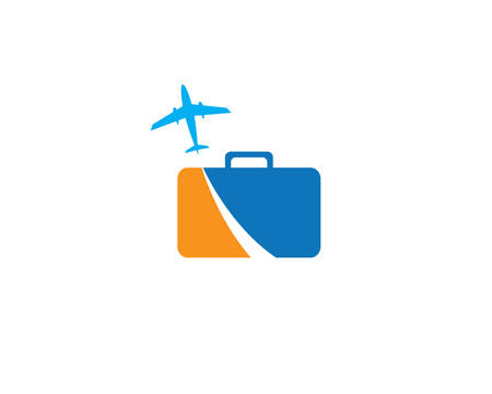 Travel logo template vector icon illustration design Banque d'images - 106761007