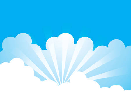 Blue sky with cloud vector icon illustration design 免版税图像 - 106804122