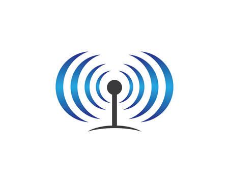 wireless symbol illustration design Vektorové ilustrace