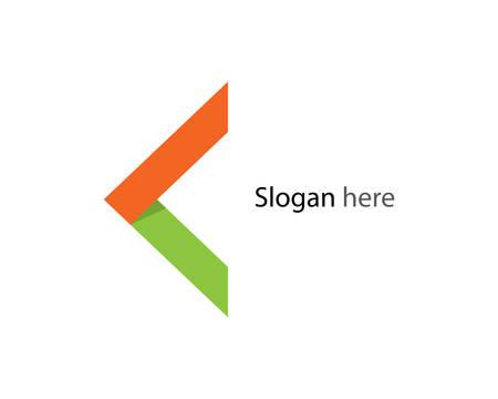 Arrow logo template vector icon illustration design 일러스트