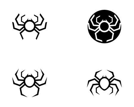 Spider symbol illustration design