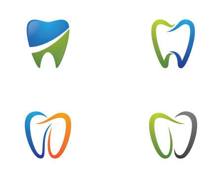 Dental logo Template vector illustration icon design Banco de Imagens - 120636809