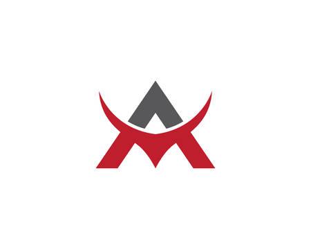 A letter logo vector icon illustration design Reklamní fotografie - 127902211