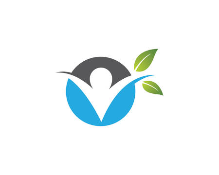 Healthy life template vector icon illustration design Banque d'images - 130386570