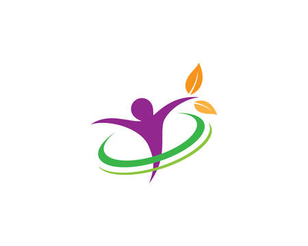 Healthy life template vector icon illustration design Banque d'images - 130386696
