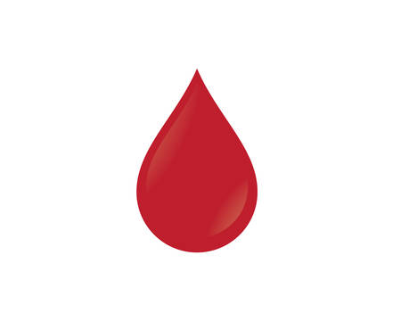 Blood template vector icon illustration design Illustration
