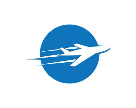 Travel logo template vector icon illustration design