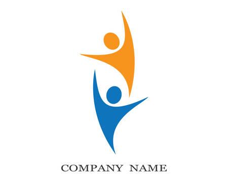Healthy life logo template vector icon illustration design Logo