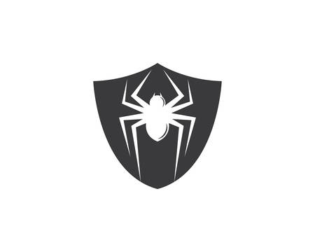 Spider  icon illustration design