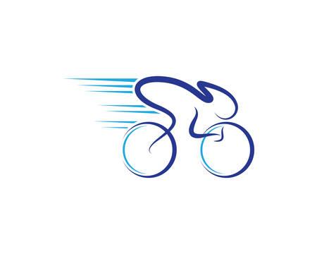 Bicycle vector icon symbol illustration design Vectores