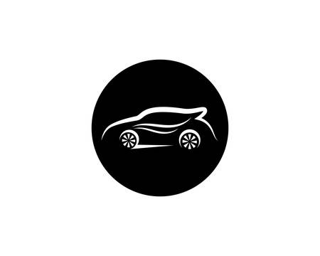 Auto car logo template vector icon illustration design