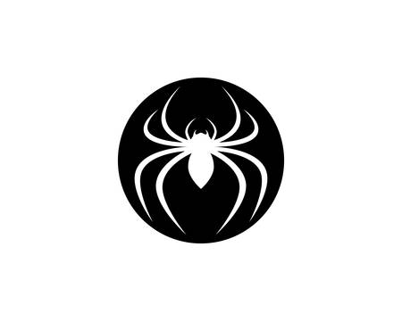 Spider logo icon illustration design