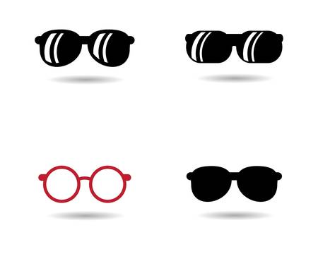 Glasses vector symbol icon illustration design
