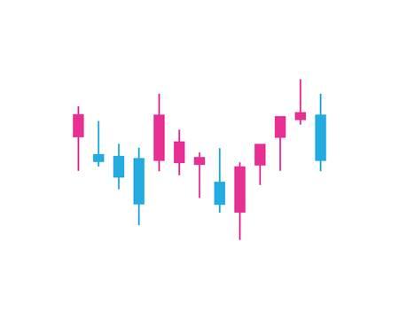 Forex market vector icon illustration