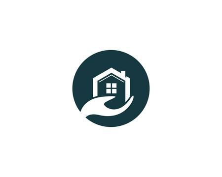 House symbol vector illustration design Vetores