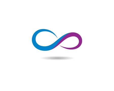Infinity vector icon illustration design