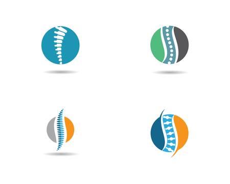Spine vector icon symbol illustration design