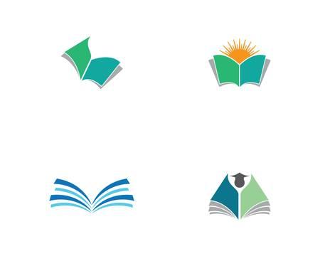 Book vector symbol icon illustration design Ilustración de vector