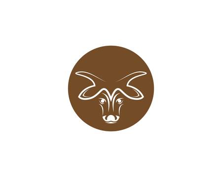 Cow vector icon illustration design