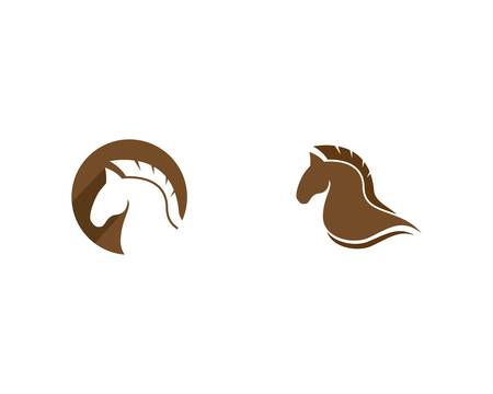 Horse vector icon illustration design Illustration
