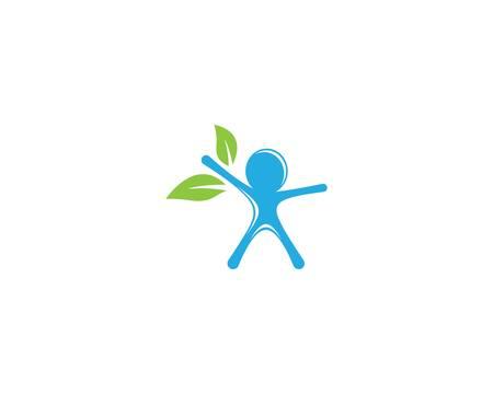 Wellnes symbol vector icon illustration Ilustración de vector