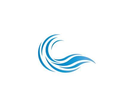 Wave symbol vector icon illustration design Ilustração