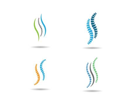 Spine vector icon symbol illustration design
