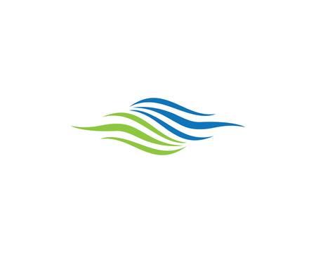 Water wave  icon illustration design Çizim