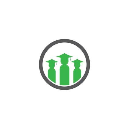 Education symbol icon illustration Illusztráció