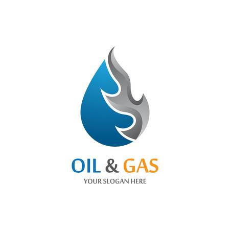 Gas and oil icon vector illustration Vector Illustration