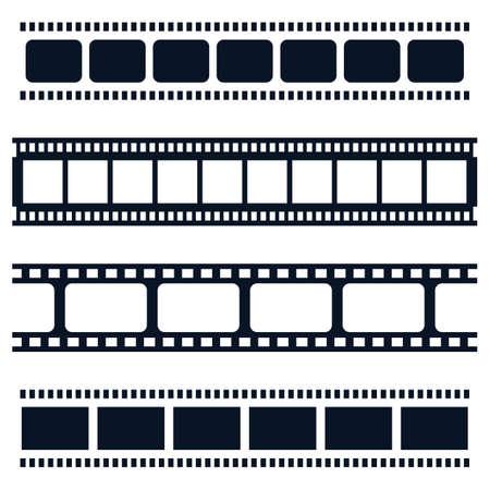 Conception d'illustration d'icône de vecteur de pellicule Vecteurs