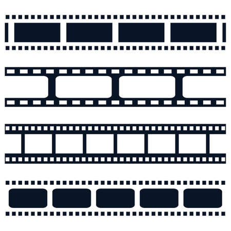 Filmstrip vector icon illustration design