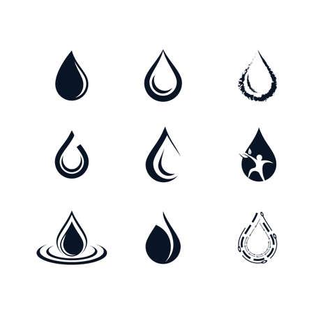 Oil drop icon vector illustration design