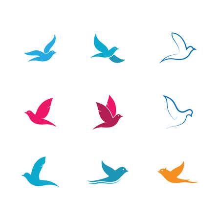 Dove vector icon illustration design